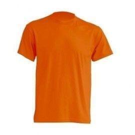 Camiseta manga Corta modelo Regular T-Shirt de JHK TSRA150 NARANJA